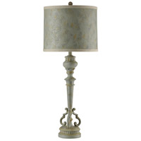 StyleCraft Home Collection L313815DS Signature 37 inch 150 watt Barcelona Blue Table Lamp Portable Light