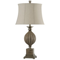 StyleCraft Home Collection L313858DS Signature 34 inch 150 watt Gray Table Lamp Portable Light