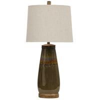 StyleCraft Home Collection L314095DS Signature 34 inch 100 watt Bostock Table Lamp Portable Light