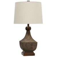 StyleCraft Home Collection L314215DS Signature 32 inch 150 watt Brown Table Lamp Portable Light