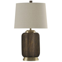 StyleCraft Home Collection L314216DS Signature 30 inch 100 watt Brown Table Lamp Portable Light