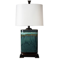 StyleCraft Home Collection L31424DS Signature 32 inch 100 watt Blue Table Lamp Portable Light