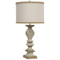 StyleCraft Home Collection L314252DS Signature 34 inch 150 watt Chrysta Cream Table Lamp Portable Light