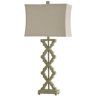 StyleCraft Home Collection L314253DS Signature 37 inch 100 watt Saray Sage Table Lamp Portable Light