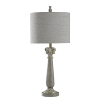 StyleCraft Home Collection L315315ADS Signature 29 inch 60 watt Grayish Brown Faux Marble Table Lamp Portable Light