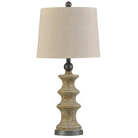 StyleCraft Home Collection L315444DS Signature 32 inch 150 watt Beige Table Lamp Portable Light