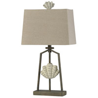 StyleCraft Home Collection L315623DS Catalonia 28 inch 60 watt Cream and Weathered Brown Table Lamp Portable Light