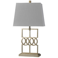 StyleCraft Home Collection L315657DS Signature 32 inch 100 watt Antique Silver Table Lamp Portable Light