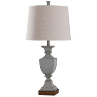 StyleCraft Home Collection L315786DS Oldbury 30 inch 150 watt Oldbury Blue Table Lamp Portable Light