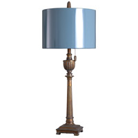 StyleCraft Home Collection L315981DS Signature 36 inch 150 watt Girona Blue and Girona Blue Table Lamp Portable Light