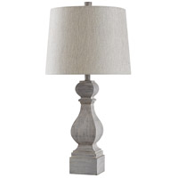 StyleCraft Home Collection L316041ADS Signature 31 inch 150 watt Gray Distressed Table Lamp Portable Light