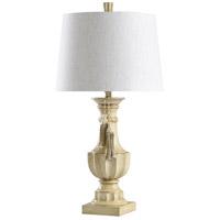 StyleCraft Home Collection L316289DS Signature 34 inch 150 watt Cream and White Table Lamp Portable Light