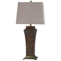 StyleCraft Home Collection L316661DS Girona 34 inch 100 watt Girona Blue Table Lamp Portable Light