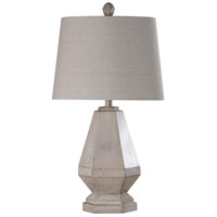 StyleCraft Home Collection L316841DS Signature 30 inch 100 watt Cream and Off White Table Lamp Portable Light