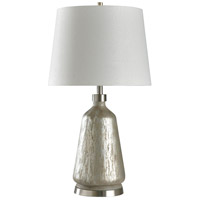 StyleCraft Home Collection L316878DS Signature 32 inch 150 watt Silver and White Table Lamp Portable Light