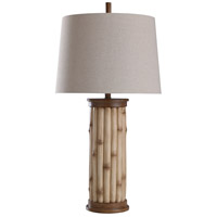 StyleCraft Home Collection L317404DS Linday 35 inch 150 watt Tan Table Lamp Portable Light