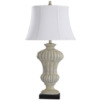 Cream Poly Table Lamps