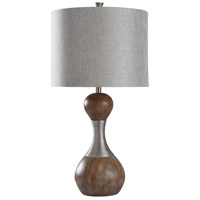 Dark Brown Polyester Fabric Table Lamps