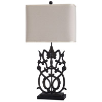 StyleCraft Home Collection L317819DS Saugus Bronze 32 inch 100 watt Saugus Bronze Table Lamp Portable Light