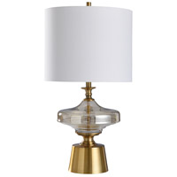 StyleCraft Home Collection L317832DS Chatham 29 inch 150 watt Smoke and Gold Table Lamp Portable Light