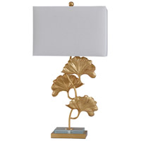 StyleCraft Home Collection L317960DS Buckingham 32 inch 100 watt Clear and Gold Table Lamp Portable Light
