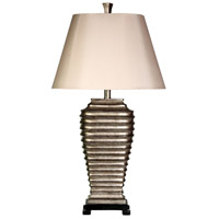StyleCraft Home Collection L31829DS Signature 33 inch 100 watt Silver Table Lamp Portable Light