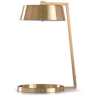 StyleCraft Home Collection L318461DS Soft Gold 4 inch 12 watt Gold and Gold Metal Table Lamp Portable Light