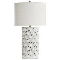 White Glaze Ceramic Table Lamps