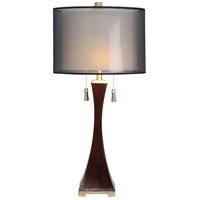 StyleCraft Home Collection L32819DS Signature 33 inch 60 watt Espresso Table Lamp Portable Light