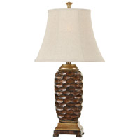 StyleCraft Home Collection L33151DS Signature 29 inch 75 watt Brown Gold Table Lamp Portable Light