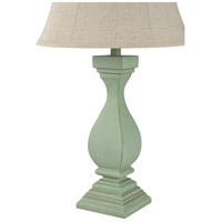 StyleCraft Home Collection L33817DS Signature 30 inch 100 watt Distressed Sea Grass Green Table Lamp Portable Light