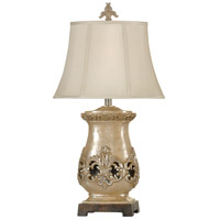 StyleCraft Home Collection L34133DS Signature 31 inch 100 watt Champagne Ware Table Lamp Portable Light
