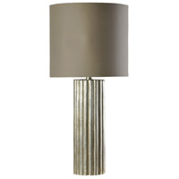 StyleCraft Home Collection L35812DS Signature 38 inch 150 watt Champagne Silver Table Lamp Portable Light