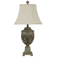 StyleCraft Home Collection L35876DS Signature 32 inch 150 watt Gold Table Lamp Portable Light