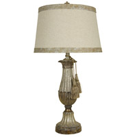 StyleCraft Home Collection L36357DS Signature 33 inch 150 watt Distressed Silver Table Lamp Portable Light