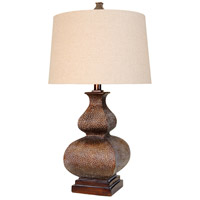 StyleCraft Home Collection L36392DS Signature 32 inch 150 watt Berkshire Brown Table Lamp Portable Light