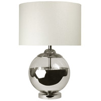 StyleCraft Home Collection L36546DS Signature 27 inch 150 watt Chrome and Mercury Ball Table Lamp Portable Light