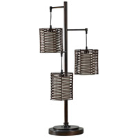 StyleCraft Home Collection L37164DS Signature 37 inch 60 watt Bronze Table Lamp Portable Light