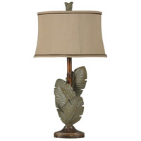 StyleCraft Home Collection L37203DS Signature 34 inch 100 watt Wentworth Bronze and Gray Table Lamp Portable Light