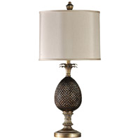StyleCraft Home Collection L37690DS Signature 36 inch 150 watt Dark Brown and Gold Table Lamp Portable Light