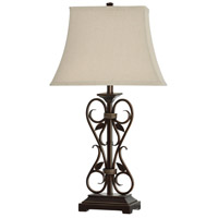 StyleCraft Home Collection L37709DS Signature 31 inch 150 watt Alhandra Table Lamp Portable Light
