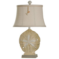 StyleCraft Home Collection L37974DS Signature 31 inch 100 watt Sandstone and Silver Table Lamp Portable Light