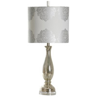 StyleCraft Home Collection L38028ADS Signature 32 inch 150 watt White Table Lamp Portable Light