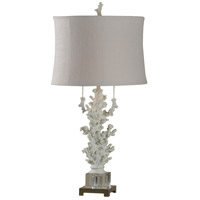 StyleCraft Home Collection L38167DS Signature 32 inch 60 watt Crystal and Beige Table Lamp Portable Light
