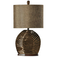 StyleCraft Home Collection L38703DS Signature 32 inch 100 watt Gold Table Lamp Portable Light