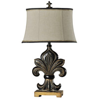 StyleCraft Home Collection L38775DS Signature 35 inch 100 watt Black Table Lamp Portable Light