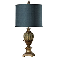 StyleCraft Home Collection L38844DS Signature 34 inch 150 watt Gold Table Lamp Portable Light
