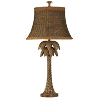 StyleCraft Home Collection L39505DS Signature 39 inch 150 watt Natural Wood Table Lamp Portable Light
