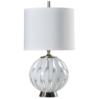 StyleCraft Home Collection L39550DS Signature 35 inch 150 watt White Table Lamp Portable Light