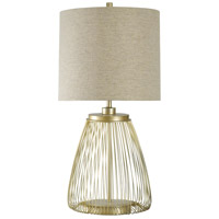 StyleCraft Home Collection L39687DS Signature 38 inch 150 watt Cupertino Table Lamp Portable Light